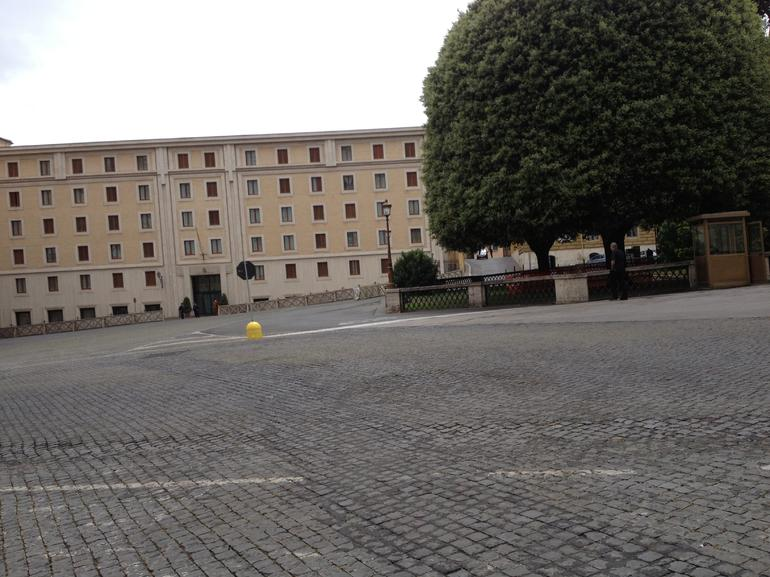 behind St. Peter's - Rome