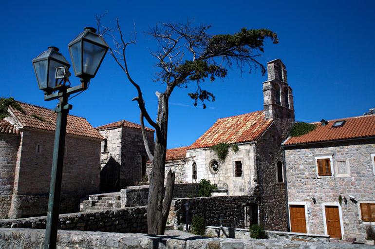 Budva buildings, Montenegro - Dubrovnik