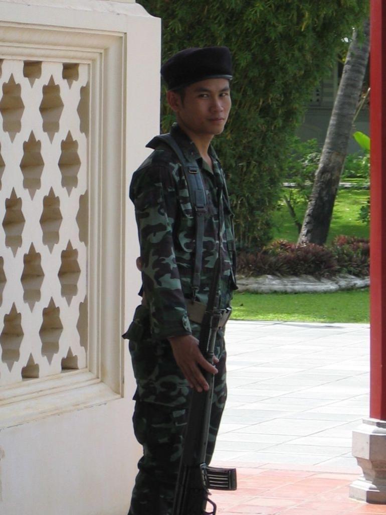 Guard at the Palace - Bangkok
