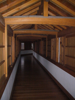 One of the hallways, I think this one was rebuilt., kellythepea - October 2010