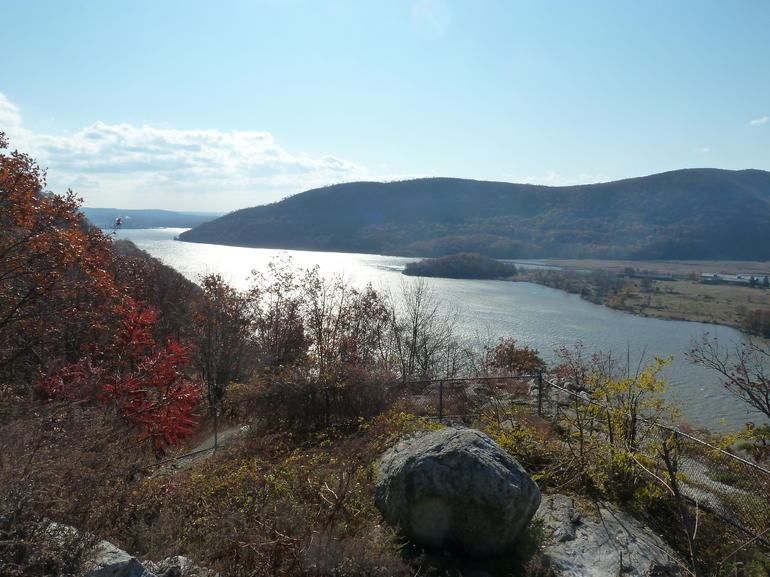 Hudson River from Bear Mountain - New York City