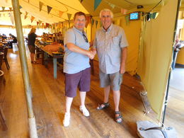 Don flies 12,500 miles to meet a fellow Millwall supporter who lives in Perth, Australia while visiting Hobbiton - it must be the magic where is Gandolf?. , Don D - May 2016