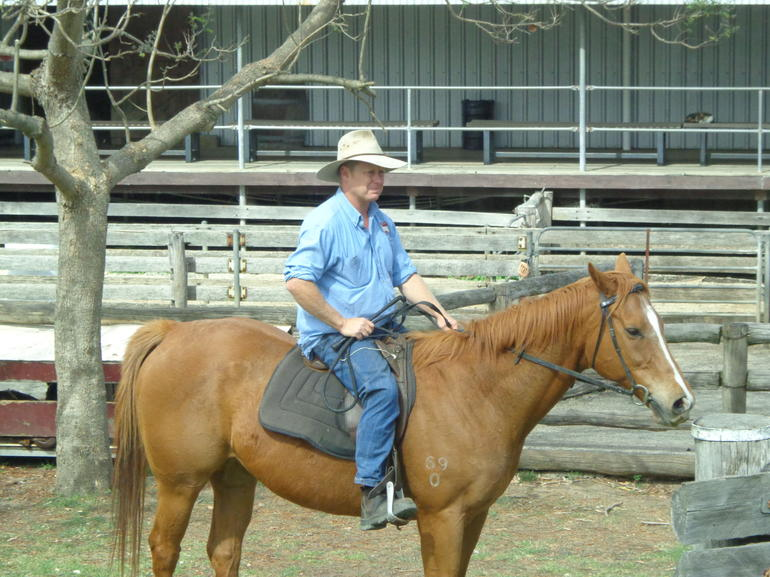 On horseback - Sydney