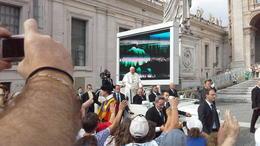 Pape François lors de son passage , Alain L - September 2014