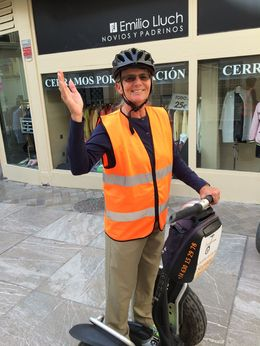 All outfitted for the Segway tour , Kirk H - January 2016