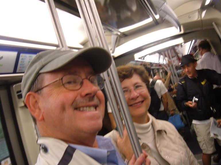 Riding the Metro in Paris - Paris