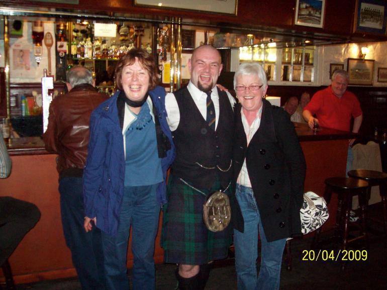 Srirley and Joan - Edinburgh