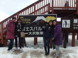 Mount Fuji in Winter. , Qun Hui Jessica O - January 2014