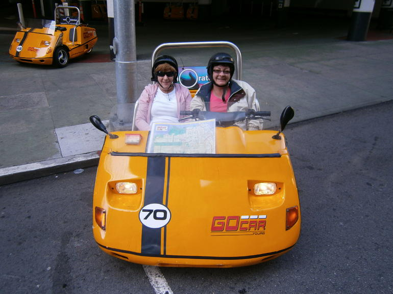 Tour Car in San Francisco - San Francisco