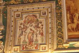 Inside Vatican museum , Lauren C - October 2014