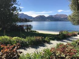 Walter Peak Station gardens and view of the lake. , Shayne V - October 2017