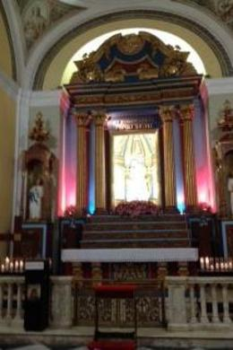 Beautiful church, active today. Architecture is impressive, Ponce DeLeon, a bishop and a relic St. Pio are interred here. Inspiring church in the heart of Old San Juan. Tour guide Estrella was ... , hilldfamily02 - August 2016