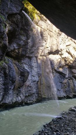 Aare Gorge waterfall , stefneehoward - October 2016