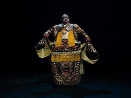 Cool costumes and makeup at the Beijing Opera - July 2014