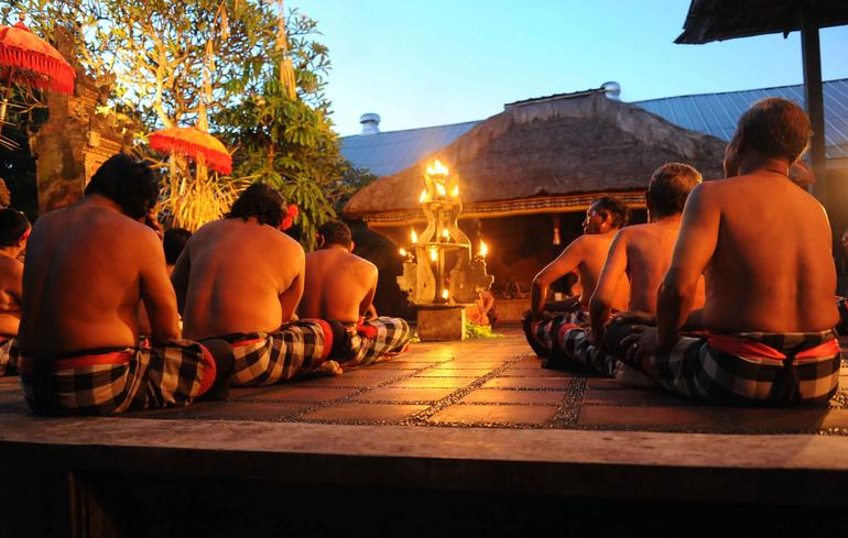 Bali Kecak Dance, Fire Dance and Sanghyang Dance Evening Tour - Bali