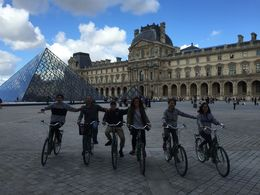 Exploring Hidden Paris by bike. , Marion L P - October 2015