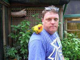 Me with a Friendly Bird, Brett C - March 2010