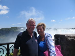 Husband and I with one more place off the bucket list. , Beth B - August 2015