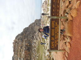 Cape Peninsula Tour - Fabiola at Cape of Good Hope , Margareth E - April 2014