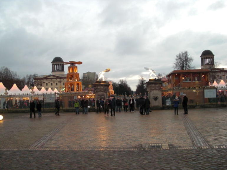 Charlottenburg Castle Christmas Market - Berlin