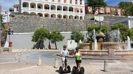 we didn't think we would be comfortable on the segway, but we we're wrong...it was great! , Terry W - October 2015