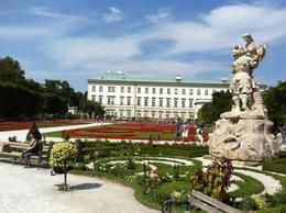 Exploring the amazing gardens from Salzburg , Gilvan G - August 2013