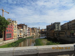 Modern Girona is built on both sides of the river. , John M - June 2016