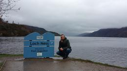 Me in Loch Ness :) ! , Djemiai O - March 2014