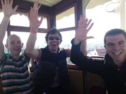 Put your hands in the air, and wave em like you just don't care! - July 2010