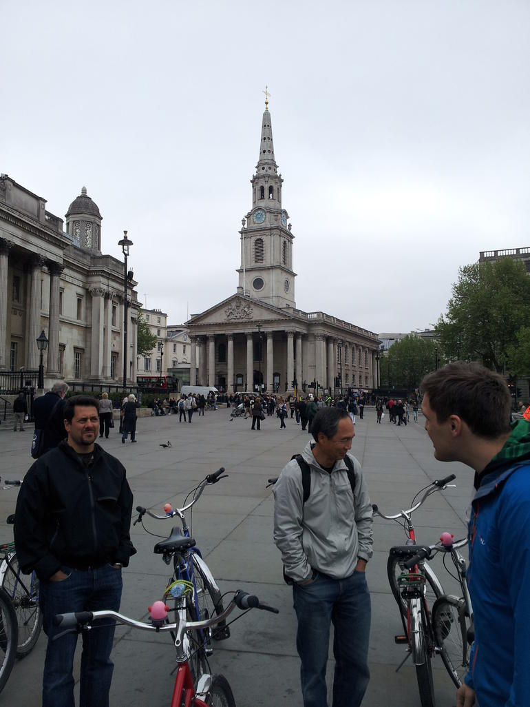 Riding through London - London