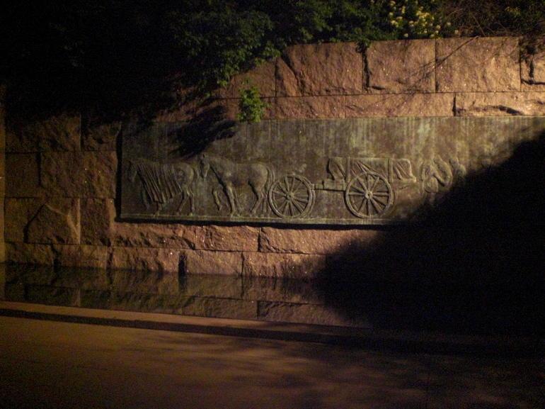 Roosevelt Monument Night - Washington DC