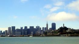 Así se ve San Francisco desde el crucero por la bahía. , CARLOS T - July 2013