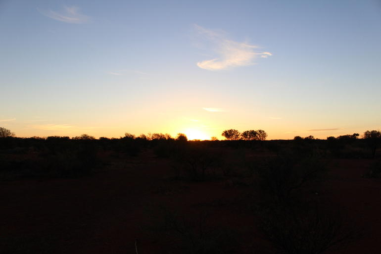 Sunrise - Ayers Rock
