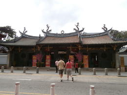 The Taoist temple dedicated to the sea Goddess in Chinatown , Mjv1991 - February 2014