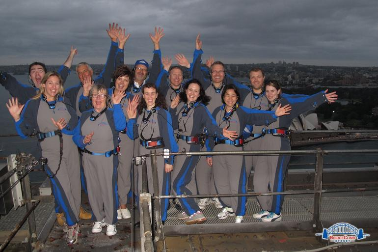 Twilight Bridge Climb on 15/03/2013 - Sydney