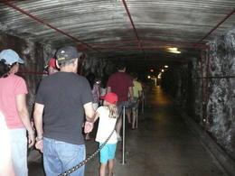 One of the many tunnels underground , Jennifer B - November 2011