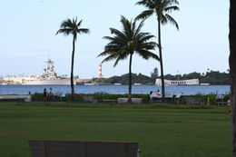 USS Missouri and the Arizona Memorial. , Phil - December 2015