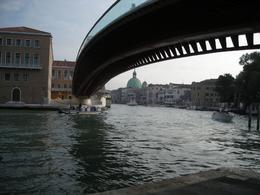 "The ""new"" bridge across the Grand Canal. - October 2008"