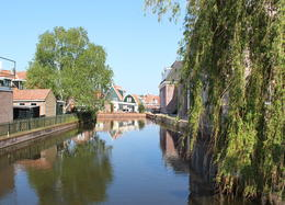 On the way to Volendam Cheese Factory , Gail C - June 2013