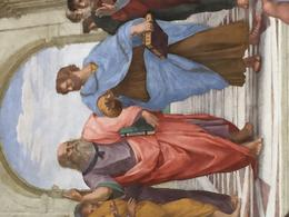 Aristotle and Socrates as painted by Raphael , Dorothy A - May 2017