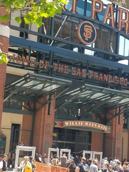 AT and T Park, home of the Giants , CRYSTAL A - July 2017