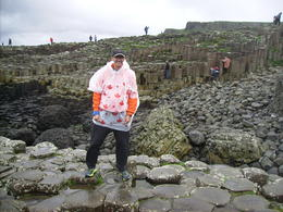 Barry at Giant's Causeway. , Barry C - October 2017