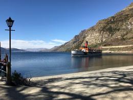 The Earnslaw coming to pick us up at Walter Peak Station. , Shayne V - October 2017