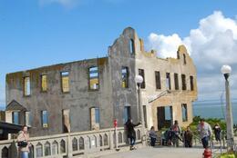 Gutted buildings lend an eerie look, Sam B! - April 2014