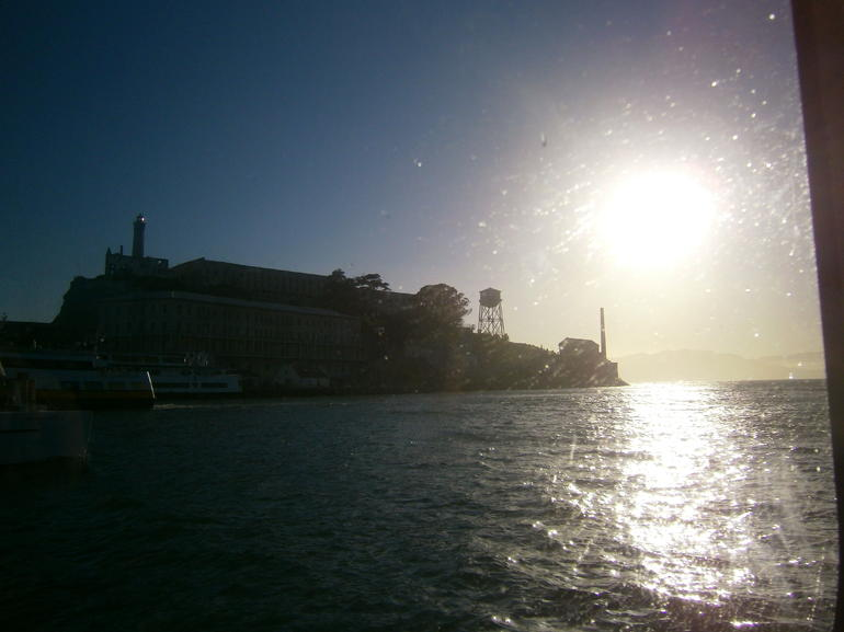 Alcatraz sunset - San Francisco