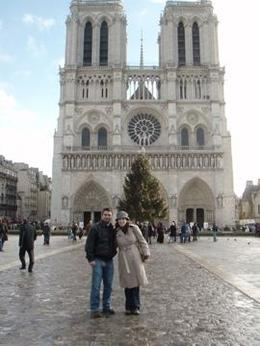 We walked from the Gare du Nord station all the way to Notre Dame! It was quite a trek...but definitely worth it!, Rachel I - January 2009