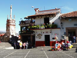 Just outside the cathedral is one of Taxco's oldest bars - Bertha's, which is said to be where the margarita was invented. , Kevin F - May 2013
