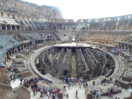 Colosseum interior , Theresa V - June 2016