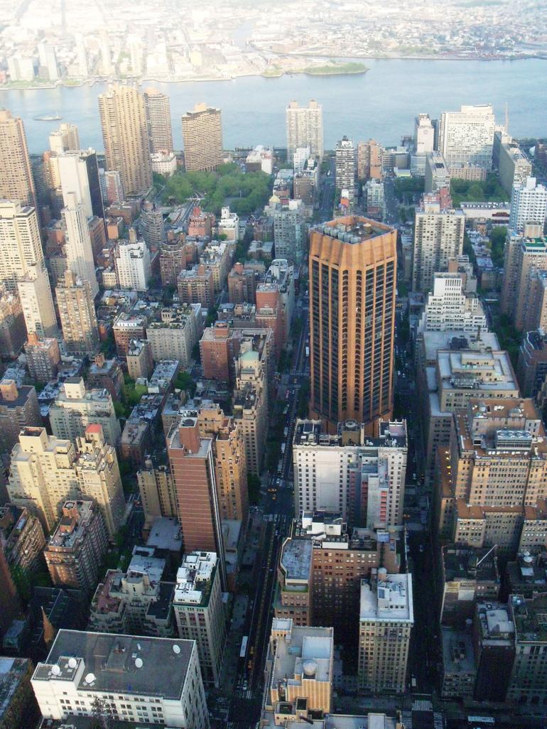Du haut de l'Empire State building - New York City