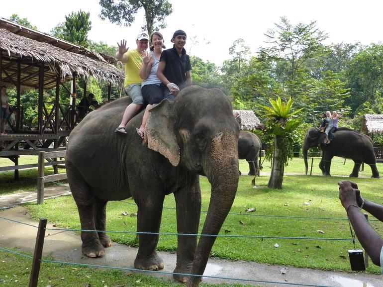 Elephant ride - fun! - Kuala Lumpur